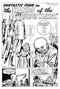 Fantastic Four (Yaffa/Page, 1977 series) #195 — The Hands of the Puppet Maker Part 2 (page 1)