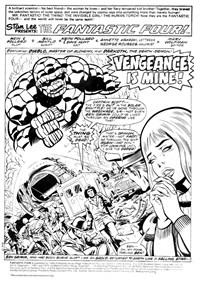 Fantastic Four (Yaffa/Page, 1977 series) #194 — Vengeance Is Mine! (page 1)