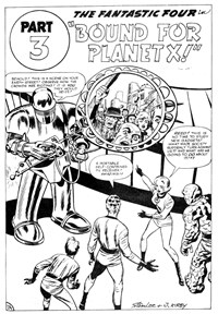 Fantastic Four (Yaffa/Page, 1977 series) #194 — Bound for Planet X! Part 3 (page 1)