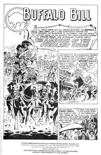 Bumper Western Album (Murray, 1978 series) #75 — The Ambush of the Overland Stage (page 1)