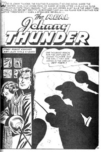 Bumper Western Album (Murray, 1978 series) #75 — The Real Johnny Thunder (page 1)