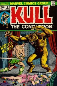 Kull the Conqueror (Marvel, 1971 series) #8 (May 1973)