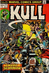 Kull the Conqueror (Marvel, 1971 series) #9 — The Sword and the Scorpion!