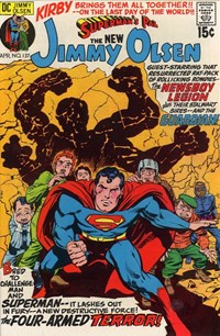 Superman's Pal, Jimmy Olsen (DC, 1954 series) #137 — The Four-Armed Terror!