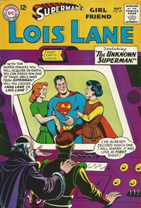 Superman's Girl Friend, Lois Lane (DC, 1958 series) #49 — The Unknown Superman!