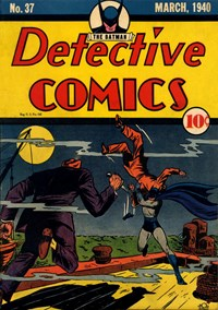 Detective Comics (DC, 1937 series) #37 (March 1940)