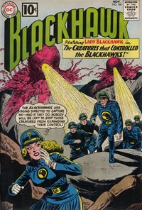 Blackhawk (DC, 1957 series) #166 — The Creatures That Controlled the Blackhawks!