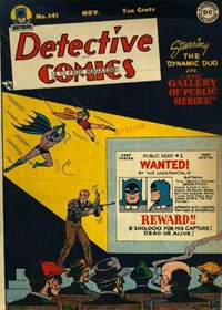 Detective Comics (DC, 1937 series) #141 (November 1948)