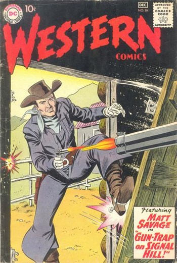 Western Comics (DC, 1948 series) #84 (November-December 1960)