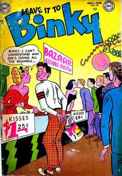 Leave it to Binky (DC, 1948 series) #32 (May-June 1953)
