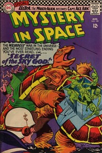 Mystery in Space (DC, 1951 series) #109 — Secret of the Sky-God!