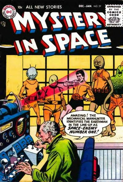 Mystery in Space (DC, 1951 series) #29 (December 1955-January 1956)