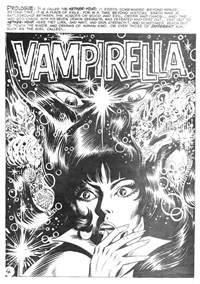 Vampirella (KG Murray, 1974 series) #3 — Carnival of the Damned (page 1)