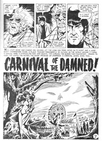 Vampirella (KG Murray, 1974 series) #3 — Carnival of the Damned (page 2)