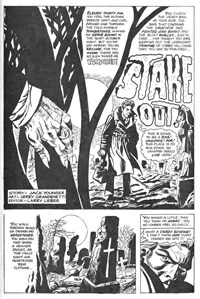 Midnight Terror (Gredown/Boraig, 1980?)  — Stake Out! (page 1)