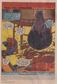 The Amazing Spider-Man (Yaffa/Page, 1977 series) #217 — Here's Mud in Your Eye! (page 1)