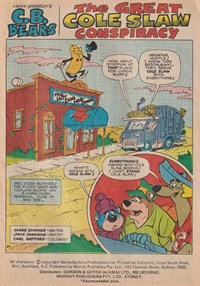 The Funtastic World of Hanna-Barbera TV Stars (Murray, 197-? series) #2 — The Great Cole Slaw Conspiracy (page 1)