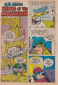 The Funtastic World of Hanna-Barbera TV Stars (Murray, 197-? series) #2 — King of the Mountain (page 1)