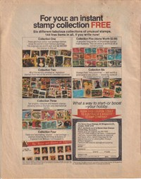 The Funtastic World of Hanna-Barbera TV Stars (Murray, 197-? series) #2 — For You: an Instant Stamp Collection Free (page 1)