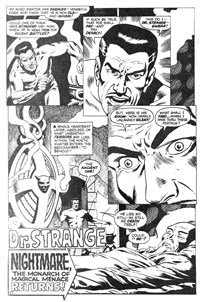 Savage Tales (Sport Magazine, 1972 series) #5 — Nightmare, the Monarch of Magical Menace Returns! (page 1)
