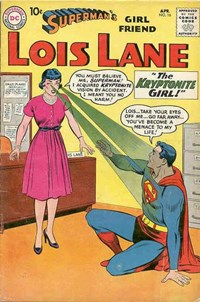 Superman's Girl Friend, Lois Lane (DC, 1958 series) #16 — The Kryptonite Girl!