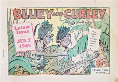 "Bluey and Curley (""Truth"" and ""Sportsman"", 1942? series) July 1945 (July 1945)"