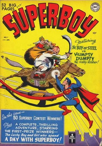 The Boy of Steel vs Humpty Dumpy the Hobby Robber!
