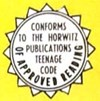 Conforms with the Horwitz Publications Teenage Code of Approved Reading