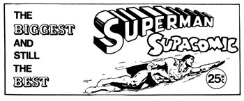 Superman Supacomic 25c (1974?-1975?)