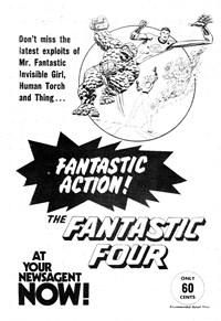 Promotion: The Fantastic Four [60 cent]