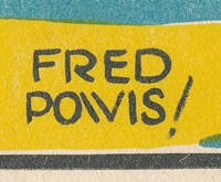 Fred Powis signature [from The Cossacks poster]