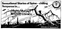 Promotion: Mighty Murray Mystery Comics