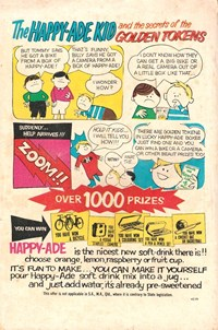 The Happy-Ade Kid and the Secrets of the Golden Tokens (1966?)