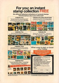 Seven Seas Stamps [Six different fabulous collections…] (1982)