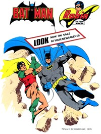Batman and Robin the Teen Wonder (1982)