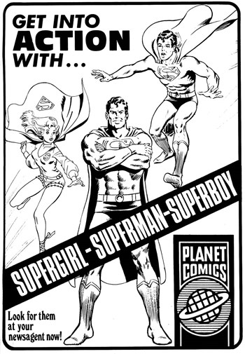 Get into Action [Planet Comics] (1977-1978)