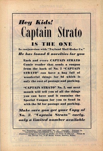 Captain Strato is the One (1958)