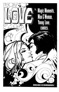 Love Is… Magic Moments. Man & Woman. Young Love. Comics. (1979?)