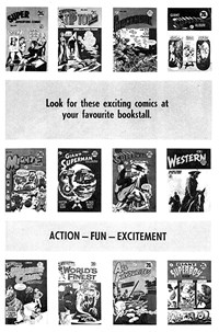Look for These Exciting Comics (1973)