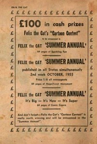Felix the Cat's 'Summer Annual' (1955)
