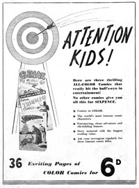 Attention Kids! [Climax, Triumph and Superman All-Color] (1947)