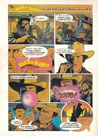 The Hubba Bubba Gumfighter Comes to Town [New strawberry] (1982?)