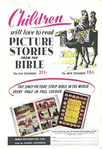Picture Stories from the Bible (1956?-1957?)