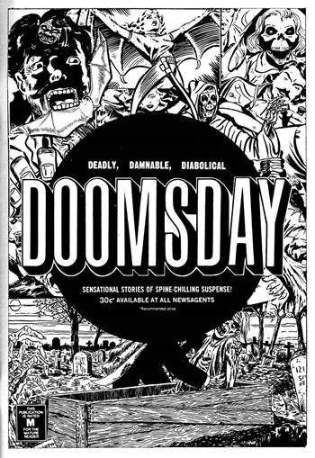 Doomsday: Deadly, Damnable, Diabolical [30 cents] (1974-1976)