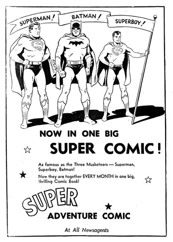 Super Adventure Comic [Now in one big super comic! No price] (1952?)