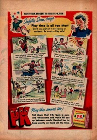 Wrigley's [Safety Sam Says Play Time Is All Too Short] (1957)