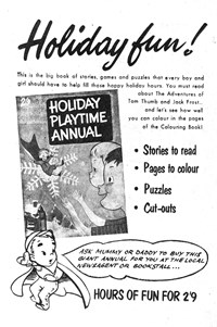 Holiday Playtime Annual [Holiday fun!] (1957)