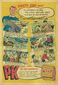 Wrigley's [Safety Sam Says An Accident's No Joke] [H5] (1957)