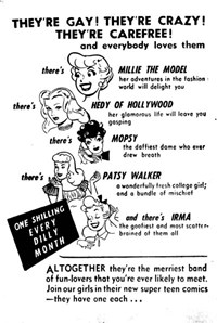 They're Gay! They're Crazy! They're Carefree! [One Shilling] (1957?)