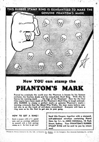 Phantom's Mark [12 marks] (1954?)